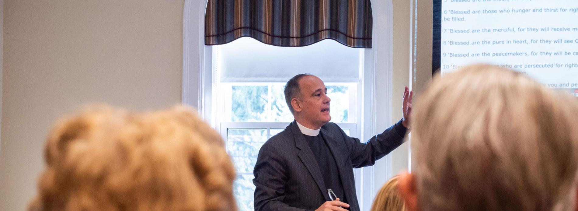 Rev. Ken Kovacs discusses the Beatitudes.