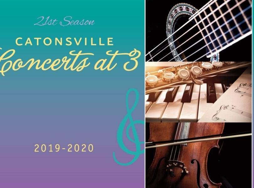 Catonsville Concerts at 3 2019-2020
