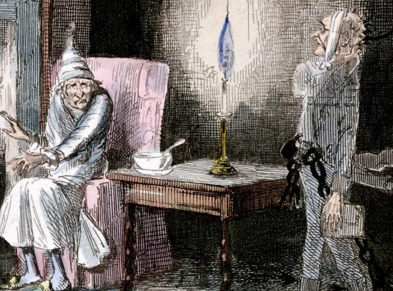 An illustration of A Christmas Carol
