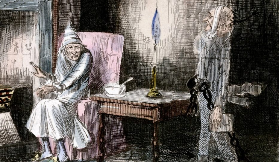 An illustration of A Christmas Carol