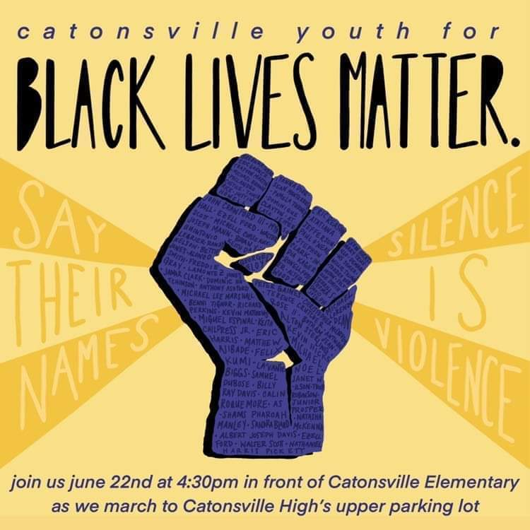 Catonsville Youth for Black Lives Matter