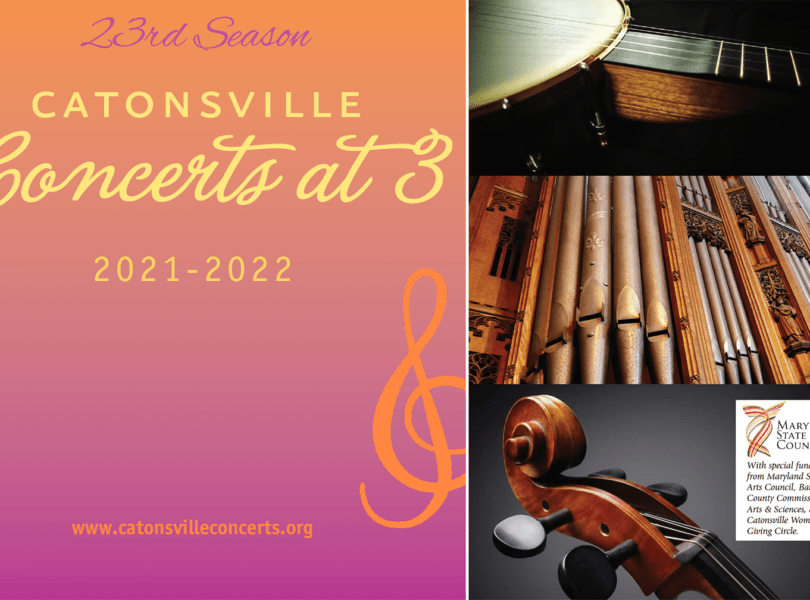 Catonsville Concerts at 3 2021-2022